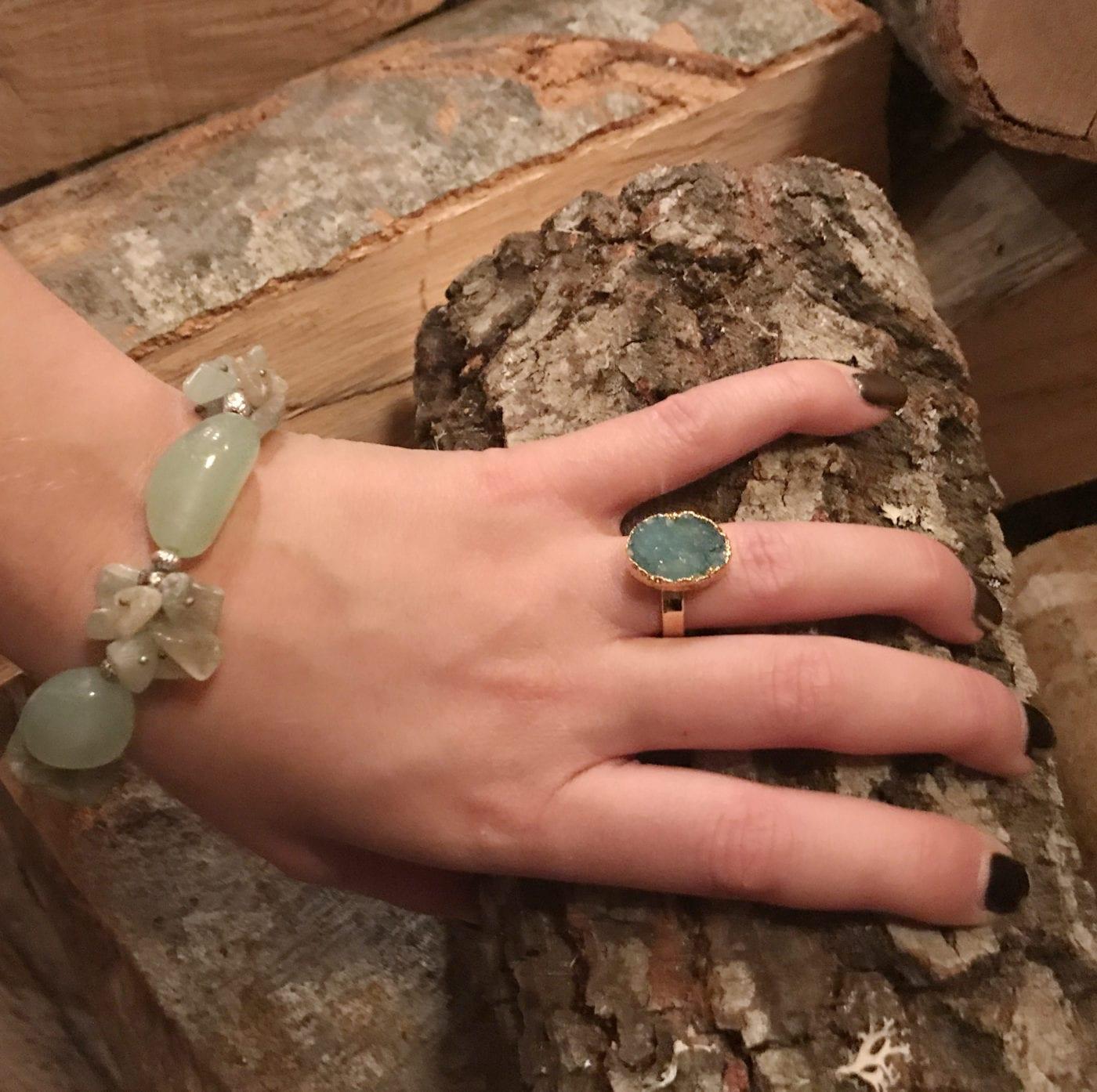 Δαχτυλίδι από χαολίτη