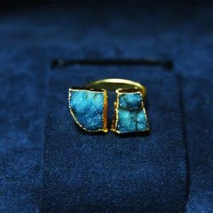 Δαχτυλίδι από ακουαμαρίνα