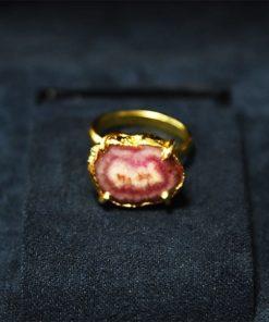 Δαχτυλίδι από κόκκινο αχάτη