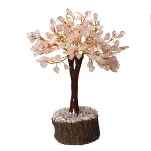 Δέντρο ζωής από ροζ χαλαζία