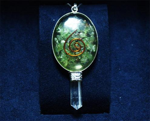 Μενταγιόν Green Jade