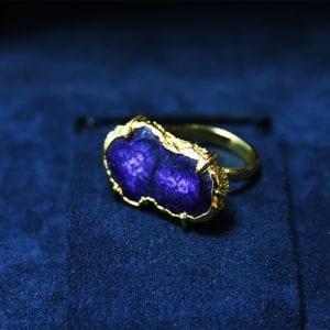 Δαχτυλίδι amethyst