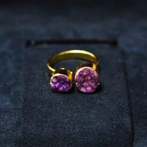 Δαχτυλίδι αμέθυστου