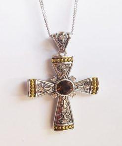 Βυζαντινός σταυρός από καρνεόλη