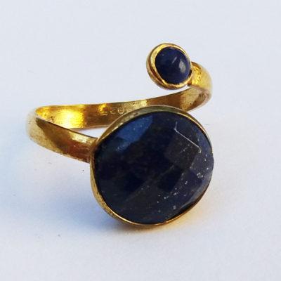 Δαχτυλίδι από Λάπις λάζουλι