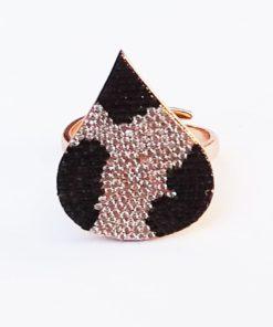 Δαχτυλίδι με πέτρες ζιργκόν