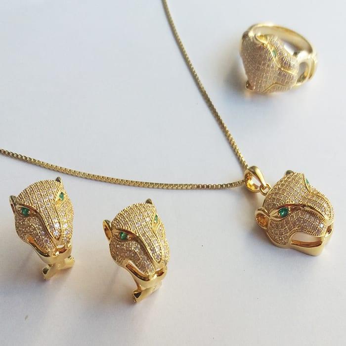 Πάνθηρας με πέτρες ζιργκόν