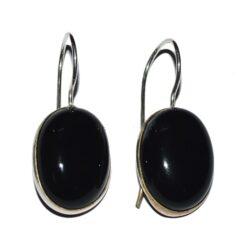 Σκουλαρίκια black onyx