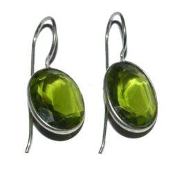 Σκουλαρίκια πράσινης αβεντουρίνης