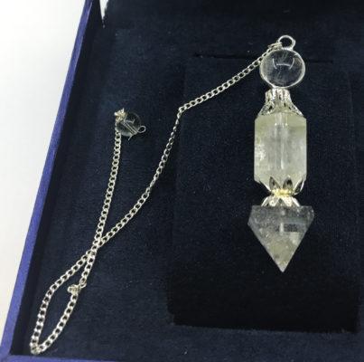 Εκκρεμές white quartz
