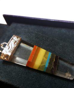 Φυλαχτό white quartz chakra