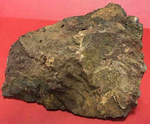 Βωξίτης ακατέργαστο φυσικό πέτρωμα
