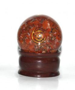 Σφαίρα προστασίας από κόκκινο ίασπη