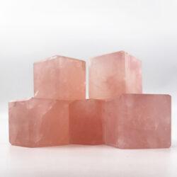 κύβος ροζ χαλαζία